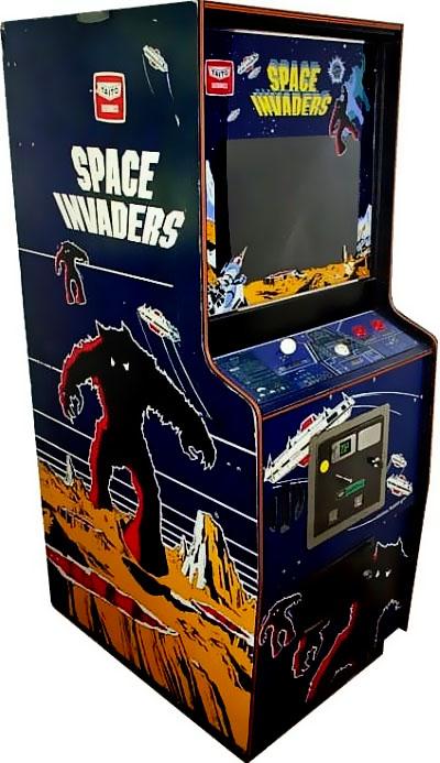 Original Space Invaders Machine